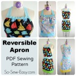 Reversible apron pattern collage 1