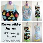 Reversible apron pattern collage 1