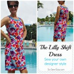 Lilly Shift dress featured small